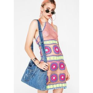 Dresses - Current Mood Free Your Mind Crochet Dress